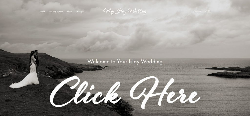 Link to My Islay Wedding Photography Web Site